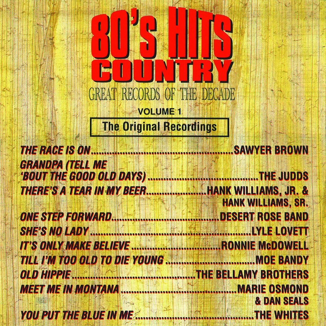 80's Hits Country - Great Records Of The Decade, Vol  1 by