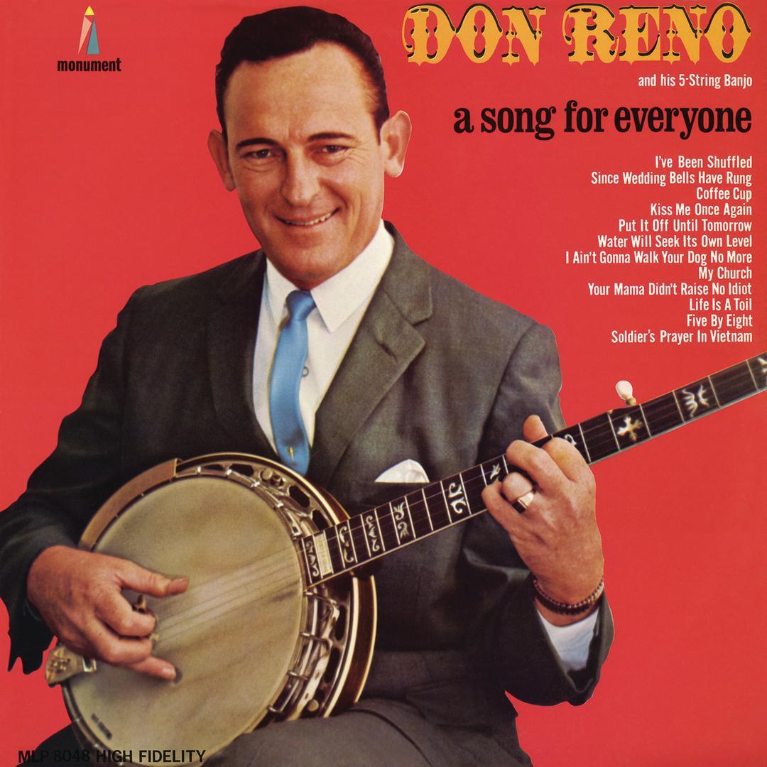 Kiss Me Once Again by Don Reno - Pandora