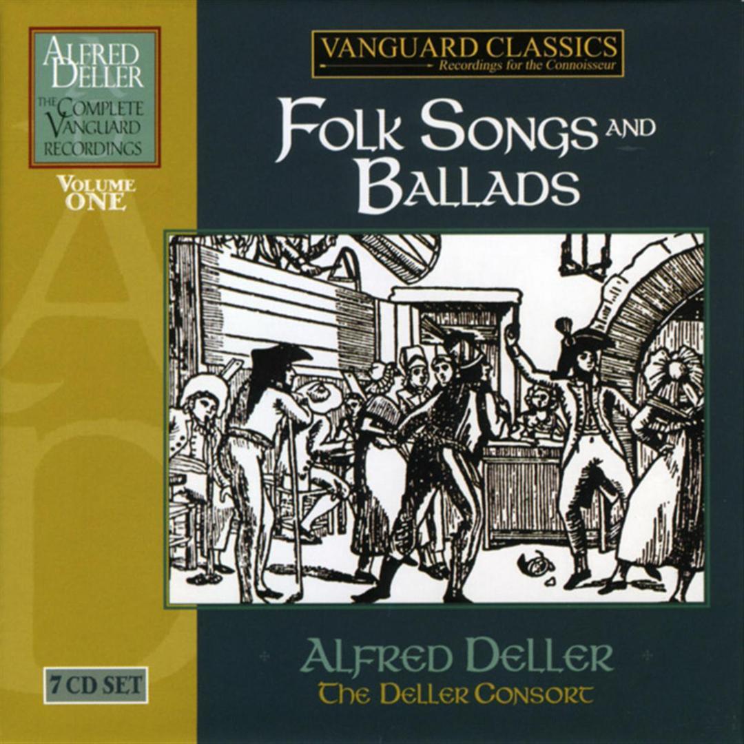 Alfred Deller: The Complete Vanguard Classics Recordings - Folk ...